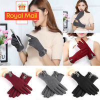 TOUCH SCREEN WINTER KNITTED GLOVES LADIES WOMEN FOR SMART PHONE TABLET MAGIC UK