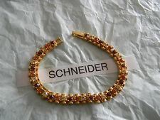 Premier Designs HORIZON topaz crystal bracelet gorgeous! RV $48 FREE ship