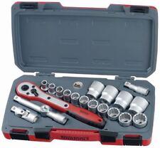 "TENG TOOLS T1220AF | 1/2"" Drive 12pt Imperial Socket Set + Accessories (20pc)"