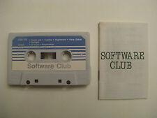 SOFTWARE CLUB SPIELE MC c C64 C128 VC20 C16/ +4 Philips MSX Sinclair ZX Spectrum