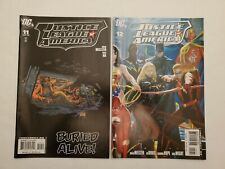New listing Justice League Of America #s 11,12 Sept/Oct 07' Dc Comics