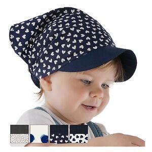Mädchen Kopftuch Stirnband Sommer Mütze Dreiecktuch Kinder Baumwolle NEU