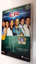 E.R. Medici  in prima linea DVD Serie TV Stagione 1 Disco 1 Episodi 7