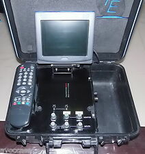 7E COMMUNICATIONS 7E TALKING HEAD TH2 PORTABLE AUDIO/VIDEO DE REPORTER SAT/ISDN