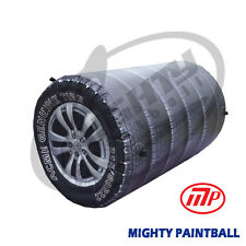 Mighty Paintball Air Bunker (Inflatable Bunker) - 6 Tire Stached