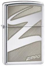 Zippo Windswept Z, 24461,+Wick +Flints