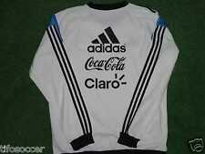Argentina Wc 2014 Worn Training Sweater Top Match Size Xl
