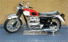 Moto Triumph T120 Bonneville 1967 ESCALA 1:24 DE ALTAYA
