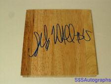 Signed SHABAZZ MUHAMMAD AUTOGRAPHED BASKETBALL FLOOR TILE & COA #15 UCLA BRUINS