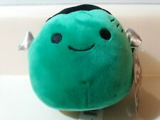 "4.5"" Squishmallow Halloween Green Frankenstein Soft Plush Stuffed Animal Toy"