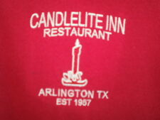 Candlelite Inn Arlington Texas Polo Shirt XL 2014 / Candle Lite Light / Rare