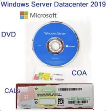 New ListingMicrosoft Windows server 2019 datacenter 64Bit 16 Core License Key Dvd&Coa