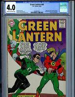 Green Lantern #40 CGC 4.0 DC Comics Silver Age 1965 K18 Amricons Graded Comic