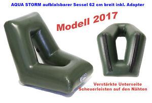 Modell 2017 AQUA STORM  62 cm aufblasbar Sitz Sessel Sitzbank Schlauchboot