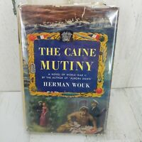 1951 The Caine Mutiny HC Book By Herman Wouk Novel Of World War II 1st Edition