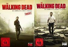 11 DVDs * THE WALKING DEAD - SEASON/STAFFEL 5 + 6 IM SET - FSK 18 # NEU OVP WVG
