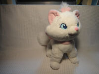 "Disney Store Aristocats Marie Kitten Cat Plush  12"" Stuffed Animal"