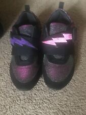 juicy couture women shoes size 6 cool color purple &green with lighting