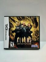 Aliens: Infestation (Nintendo DS, 2011) CIB Complete. Tested. Free shipping