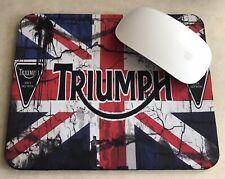 TRIUMPH Motocicleta, láser para juegos PC Alfombrilla Ratón, Moto, Enfield,