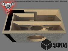 STAGE 2 - PORTED SUBWOOFER MDF ENCLOSURE FOR JL AUDIO 8W1V3 SUB BOX