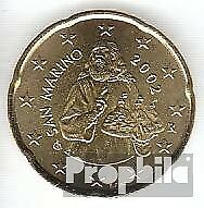 San Marino SMA 5 2002 Stgl./ongecirculeerd 2002 Kursmünze 20 Cent