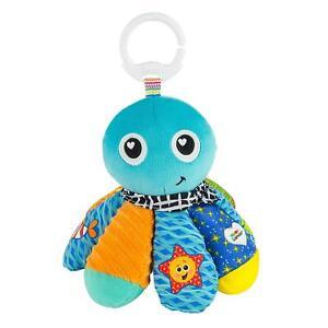 Lamaze CLIP & GO SALTY SAM THE OCTOPUS Baby Stroller Activity Soft Toy BN