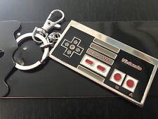 Nintendo Keyring Keychain Gaming Jewellery RETRO NES 8cm Metal Gift SNES *AUS*