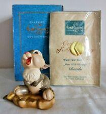 WDCC Walt Disney Bambi, Thumper, Hee! Hee! Hee!, Box + Certificate
