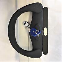 """Sliding door lock DS930 """"Wilton"""" by Doric aluminium patio door lock"""