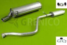 Komplette Auspuffanlage + Montagesatz PEUGEOT 306 1.4 1.6 1.8 1993-2001 Auspuff