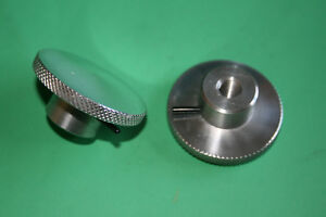 NORTON COMMANDO 750 850 PAIR POLISHED ALLOY SEAT SECURING KNOBS 06-4009 06-0647