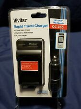 Vivitar Quick Travel Charger for Canon NB-2L 2LH 2L5 2L12 Battery