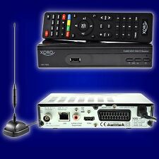 DVB-T2 terrestrische HD Receiver Xoro HRT 7619 HEVC H.265 USB LAN HDTV + Antenne