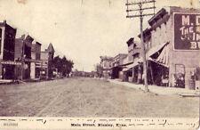 MAIN STREET, KINSLEY, KS. Edwards Co. Co-op Assn., Hardware store, Market 1908