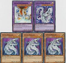 Ready To Play YUGIOH Deck CYBER END DRAGON TWIN CYBER PHOENIX VALLEY 42 cards