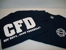 Chicago Fire Department Off Duty Save Yourself! Tee