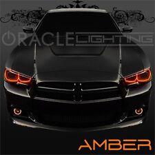 2011-2014 Dodge Charger ORACLE LED Headlight Halo Kit + Fog Light Halo Kit Amber