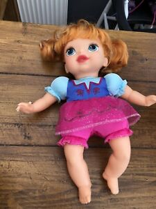 """Very Rare My First Disney Princess 12"""" ANNA Baby Doll Soft Body Play"""