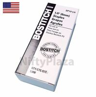 P3 Bostitch Staples 5000 per box SP19 1/4 Genuine Staples Free Shipping US Stock
