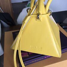 Nita Suri Style Bag Triangle Yellow
