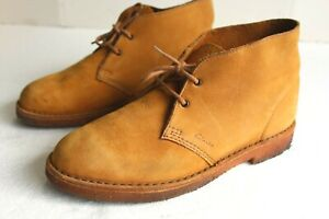 Clarks Men's Desert Chukka Boots, Suede Leather Size 8.5 D