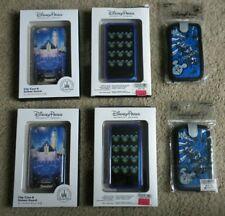 Lot of 6 Disney Parks Mobile Phone Case s NIP Castle Mickey Mouse iPhone D-Tech