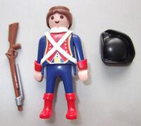 37712 Franzose mit Dreispitz Gewehr und Bajonett Soldat