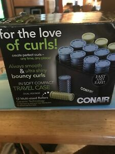 Conair HS28XR Instant Heat Compact Hot Rollers w/Ceramic Technology