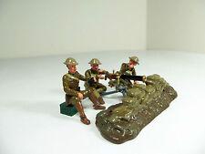 W. Britain 41148 Browning Machine Gun & US Detachment - Mint in Original Box-