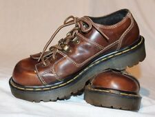 Dr  Martens England 9945 Brown Leather Casual Oxfords Womens Size UK4, US 4.5