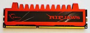 GSkill Ripjaws 4GB DDR3 1333MHz PC3-10600U Non-ECC Desktop RAM PC Memory Red