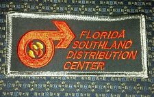 """FLORIDA SOUTHLAND DISTRIBUTION CENTER Iron or Sew-On Patch 4.25""""X2"""""""