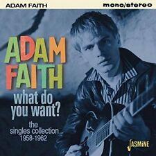 Adam Faith - What Do You Want? - The Singles Collection ... - Adam Faith CD REVG